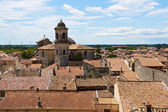 Roofs of Beaucaire — Stock Photo