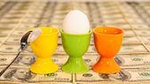 Tres huevos — Foto de Stock