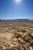 Midday in Israel Desert — Stock Photo
