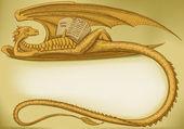 Dragon symbol in 2012. — Stock Vector