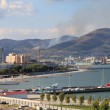 Skyline of Novorossiysk - Stock Photo