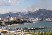Skyline of Novorossiysk — Stock Photo
