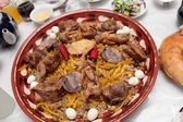 Samarkand pilau — Stock Photo