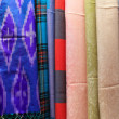 Multicolored textiles — Foto Stock