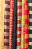 Uzbek textiles — Stock Photo