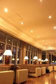 Interior hotel lobby — Stock Photo
