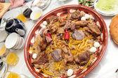 National uzbek dish pilau — Stock Photo