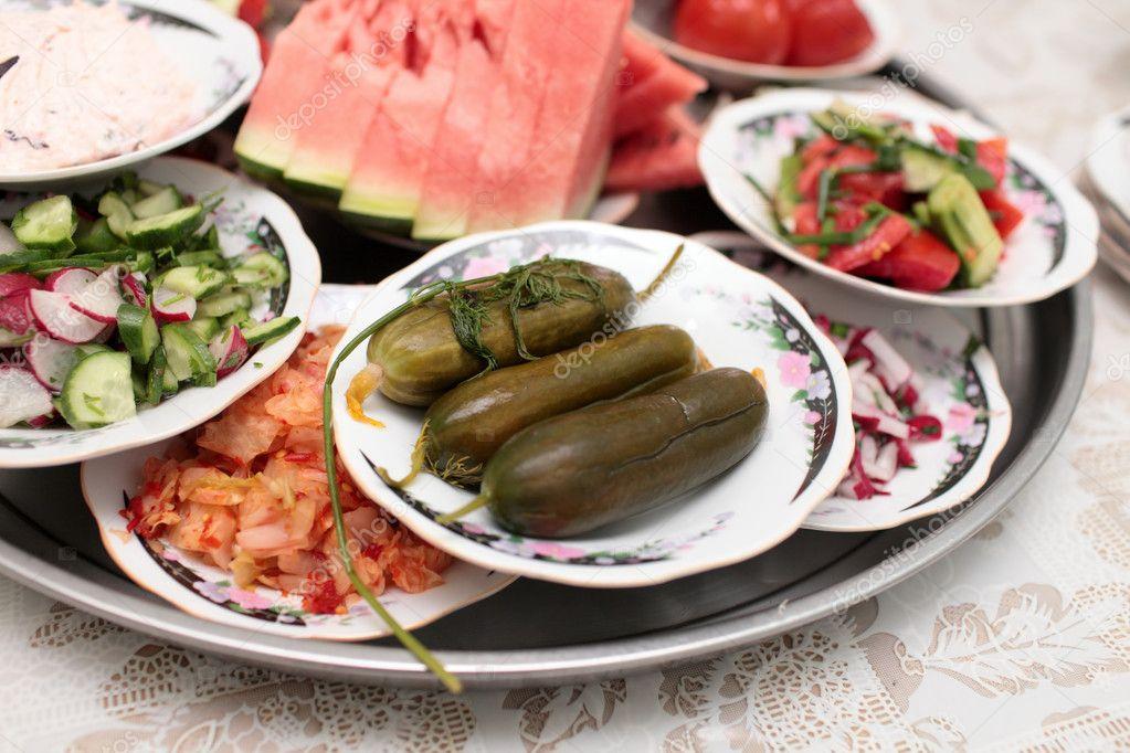 Татарская кухня закуски и фото
