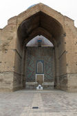 Brick arch of Guri Amir mausoleum — Stockfoto