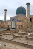 View of Guri Amir mausoleum — Stock Photo