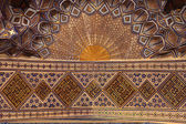 Golden ceiling of Guri Amir — Stock Photo