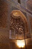 Golden interior of Guri Amir — Stock Photo