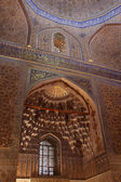 Inside of Guri Amir mausoleum — Stock Photo