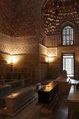 Inside the mausoleum Gur e Amir — Stock Photo
