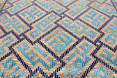 Mosaic wall of Guri Amir — Stock Photo