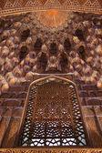 Fenster in guri amir — Stockfoto