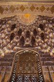 Decoración dorada en guri amir — Foto de Stock