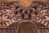 Part of golden ceiling in Guri Amir — Stock Photo