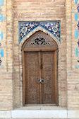 Wooden door of Guri Amir — Stok fotoğraf