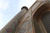 Minaret of Madrasa of Ulugh Beg — Stock Photo