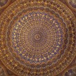 Ceiling of Tilya Kori Madrasah — Stock Photo
