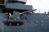Bow-gun van aurora cruiser — Stockfoto