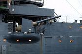 łuk gun krążownik aurora — Zdjęcie stockowe