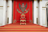 The great imperial throne in winter palace — Stock Photo