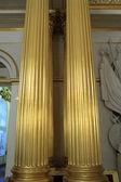 Columns of Armorial Hall — Stock Photo