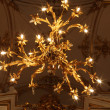 Royalty-Free Stock Photo: Chandelier of main Staircase of the Winter Palace