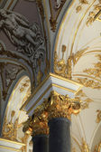 Decoration of main Staircase of the Winter Palace — Stock Photo