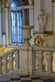 Railing of main Staircase of the Winter Palace — Stock Photo