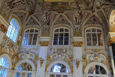 Wall of main staircase of the Winter Palace — Foto Stock