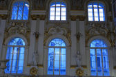 Windows of main Staircase of the Winter Palace — ストック写真