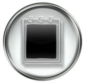 Notebook icon grey — Stock Photo
