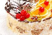 Fruit cake — Stock Photo