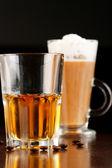 Café irlandés con whisky — Foto de Stock