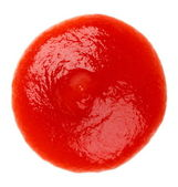 Ketchup drop — Stock Photo