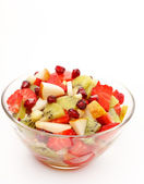 Fresh fruits salad — Stock Photo
