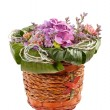 Royalty-Free Stock Photo: Beautiful flowers in a basket