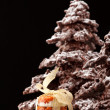 Chocolate Christmas tree - Stock Photo