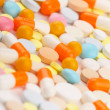 Royalty-Free Stock Photo: Colorful tablets with capsules