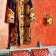 Oriental robe on the wall — Stock Photo