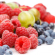 Stock Photo: Different kinds of berries