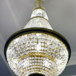 Stock Photo: Crystal chandelier