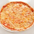 Stock Photo: Cheese pizza
