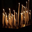 Candles in a church — Stock fotografie