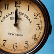 Stock Photo: Clock of grand central station