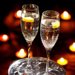 Flutes of champagne - Foto de Stock  