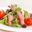 Stock Photo: Salad with meat